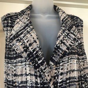 CHANEL Jackets & Coats - Chanel jacket overcoat sweater STUNNING Size 10-12